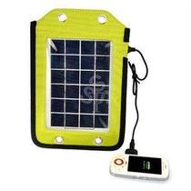 Cargador Solar 2.5 W Para Celulares Iphone Mp3 Mp4 Gps