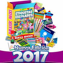 Etiquetas Escolares Imprimibles 7 Mil Imagenes +5 Gigas 2017