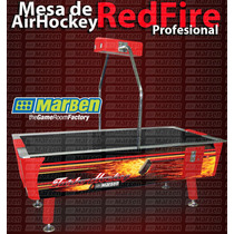 Mesa De Air-hockey Profesional De Uso Rudo - (marben)