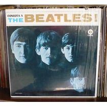 The Beatles Lp Conozca A... Sello Crema Translucido