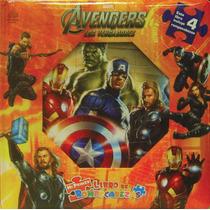 Mi Primer Libro De Rompecabezas: The Avengers