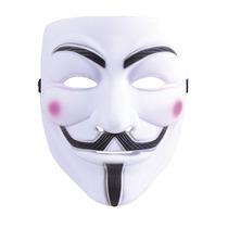 V De Vendetta Traje - Adulto Unisex Guy Fawkes Plástico