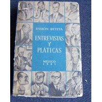 Libro , Ramón Beteta Y Cabral