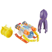 Matchbox Car-go Squid Sub Playset