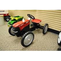 Tractor De Pedales Metal Montable Carrito