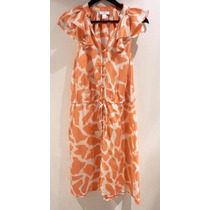 Vestido Seda The Loft Ann Taylor - Fashionella - Sm(6) T9y2
