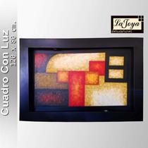 Cuadros Con Luz, Pintura Al Óleo, Abstractos,frutas