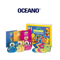 Sesame English Curso Infantil 6 Vols 6 Dvd Oceano