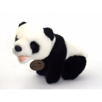 Oso Panda Bebe De Peluche Aurora Classic Nuevo