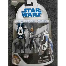 Clone Wars / Figura Capitan Rex / 1st Day Of Issue / Hasbro