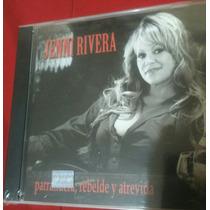Jenni Rivera Parrandera Rebelde Y Atrevida Cd Nuevo