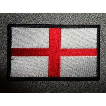 Bandera Bordada De Inglaterra Parche Escudo Bordado