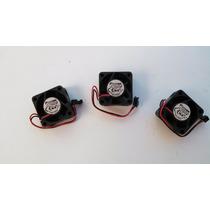 Ventilador 12v Lote De 3 Pz. 0.080amps. 40x40x20mm