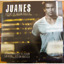 Cd Sencillo, Juanes, Gotas De Agua Dulce