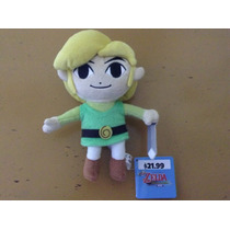 Legend Of Zelda Peluche Link Nintendo Original Y Nuevo