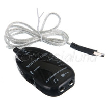 Guitar Link Usb Conecta Guitarra En Pc Distorsion Pedal Vbf