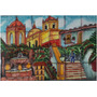 Mural Pintado En Azulejos