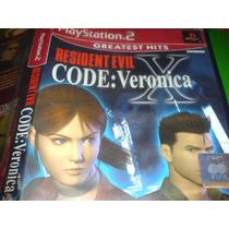 Codigo Veronica X Play 2 Bfn Solo Juego Caja Sin Manual Maa