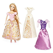 Hermoso Set De Guardarropa Rapunzel Disney Collector
