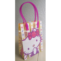 Fiesta De Hello Kitty, Bolsa Dulcera, Orginal, Regalo
