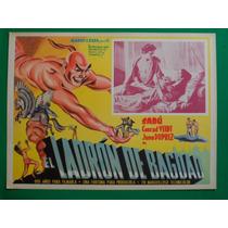 El Ladron De Bagdad Sabu Conrad Veidt Orig Cartel De Cine 2