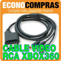 Cable De Video Rca Para Xbox 360 Dv-15 S.av 100% Nuevo!!!!!!