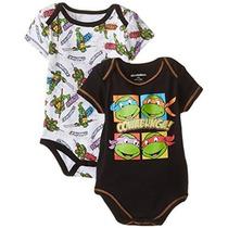 Nickelodeon Baby Baby-niños Recién Nacidos Tortuga Ninja 2 P