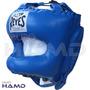 Careta Cleto Reyes Con Barra De Acero Azul