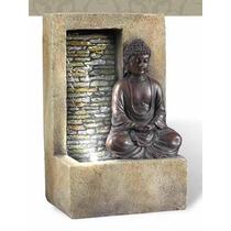 Fuente De Agua De Buda Con Cascada En Muro Lloron Modelo 21