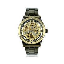 Reloj Mecánico Esqueleto Automático Hombre Diales Elegante
