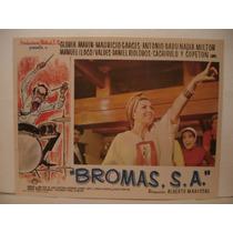 Mauricio Garces , Bromas , S.a. , Cartel De Cine