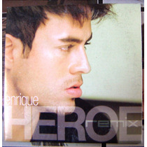 Cd Sencillo, Enrique Iglesias, Heroe Remix,