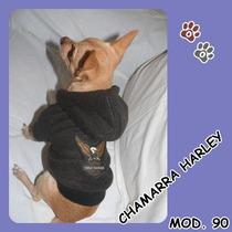 Chamarra Harley Para Perritos,tu Mascota Lo Merece