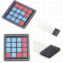 Teclado Matricial 4x4 Para Pic, Arduino , Avr
