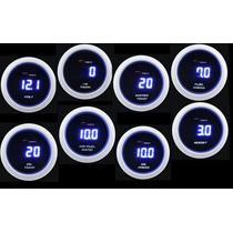Medidor Digital Volt Tacometro Temperatura Agua Aceite Mezcl