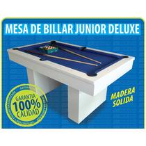 Mesita De Billar Junior Deluxe Madera Solida - (marben)