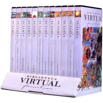 Biblioteca Virtual Familiar 12 Cd Roms Didaco