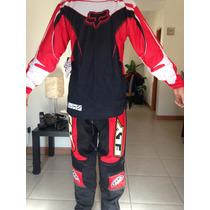 Traje Fox-/fly Motocross S-32 Cuatrimoto Enduroatv Rzr Atv
