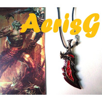 Arg God Of War Collar De Espada Unico Xbox Games Anime Au1