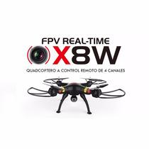 Drone Fpv Syma X8w Venture Camara Wifi Video Tiempo Real