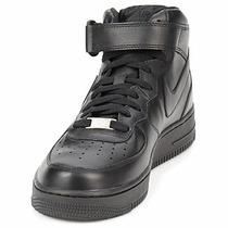 Bota Nike Air Force One 100% Originales Negro