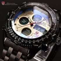 Reloj Shark Original Análogo Digital Nuevo Envío Gratis !!