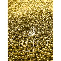 14 Febrero Regalo Dulces Perla Dorada Oro Confeti Yummy