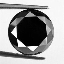 Genuino Diamante Negro Jet 1.93 Qt Certificado