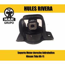 Soporte De Motor Derecho Nissan Tiida Mod 06-11 Hidráulico