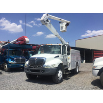 Grua Canastilla Marca Altec De 36 Pies En International 2003
