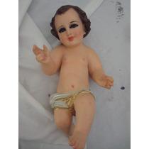 Niño Dios 35cm Terminado Fino Monroy Yeso. Oferta Bfn