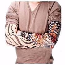 Paquete De 10 Pares De Mangas Tattoo Diseños Surtidos