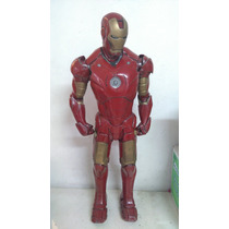 Iron Man Mk 3 De 90cm De Resina Detallado