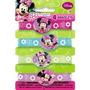 Pulseras De Goma Minnie Mouse 4ct